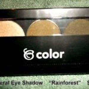 Rainforest Beauticontrol Mineral Shadow Trio